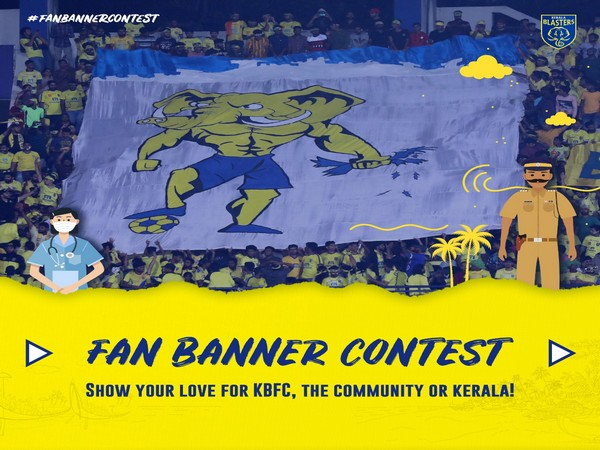 The selected design will be printed and displayed on the stands that will be shown during the live telecast of the ISL match.