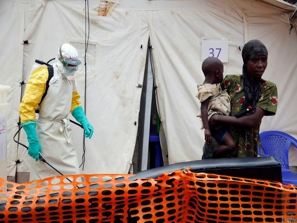 An Ebola treatment centre in DR Congo (Image source: Reuters)