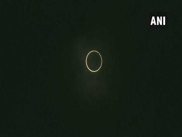 Solar eclipse witnessed in Dubai