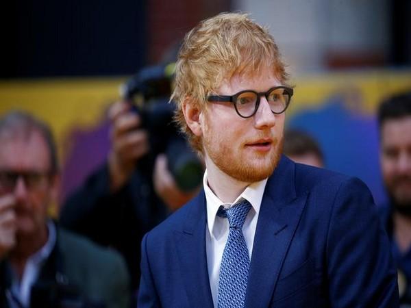 Singer-songwriter Ed Sheeran