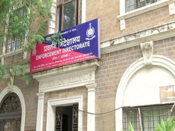 Enforcement Directorate (ED) office at Mumbai, Maharashtra. (Photo/ANI)