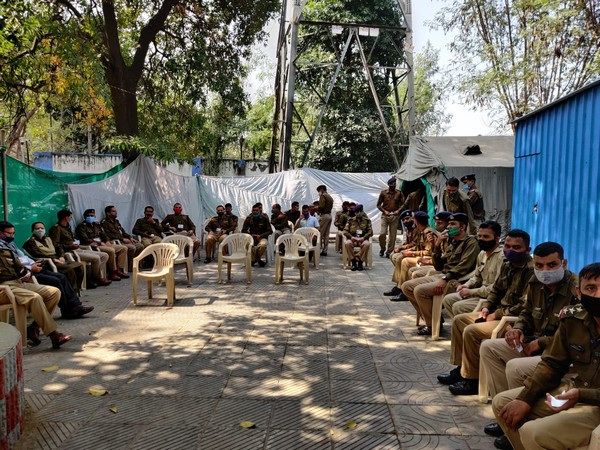 Around 250 jawans got vaccinated in a special session at ITBP Headquarters in New Delhi.