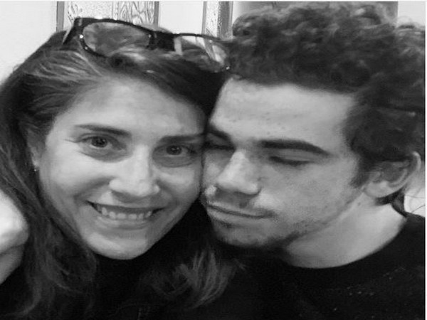 Libby Boyce with her son Cameron Boyce, Picture courtesy: Instagram