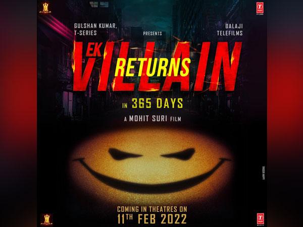 Poster of 'Ek Villain Returns' (Image source: Instagram)