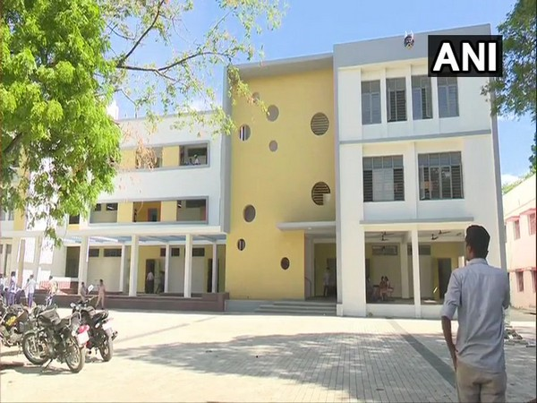 Elango Corporation Higher Secondary School in Madurai. Photo/ANI