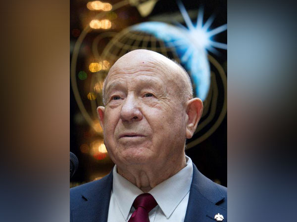 Alexei Leonov, a Soviet-era cosmonaut who was the first person to perform a spacewalk back in 1965.