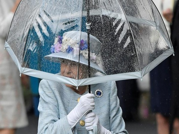 Queen Elizabeth II at the Royal Ascot on Wednesday (Photo/Reuters)
