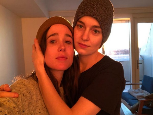 Elliot Page and Emma Portner (Image source: Instagram)