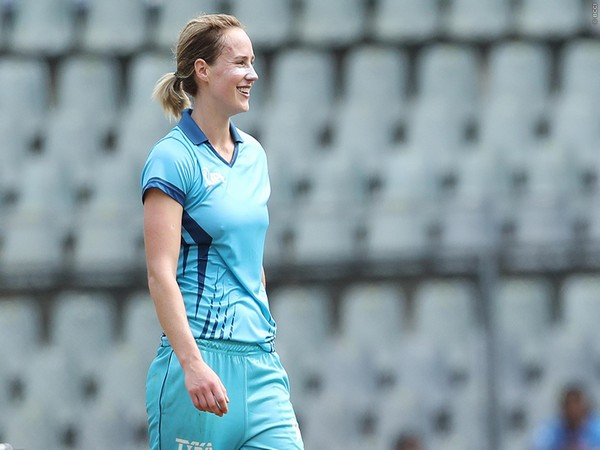 Australia all-rounder Ellyse Perry during one-off women's exhibition match last year (Photo/IPL)