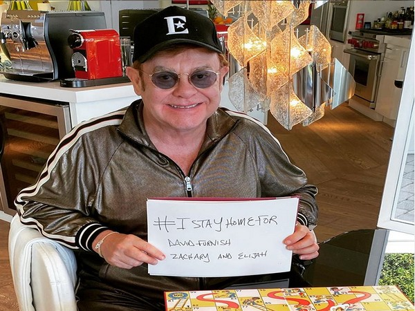 Singer Elton John (Image courtesy: Instagram)