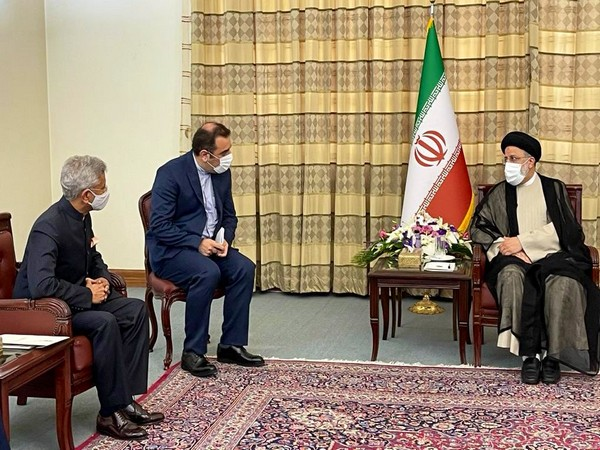 External Affairs Minister (EAM) S Jaishankar met with Iranian President-elect Ebrahim Raisi and handed over a personal message from Prime Minister Narendra Modi.