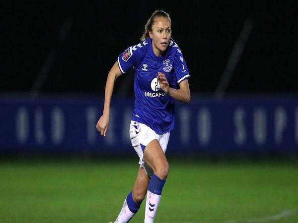 Everton forward Claire Emslie (Photo/ Everton Women Twitter)
