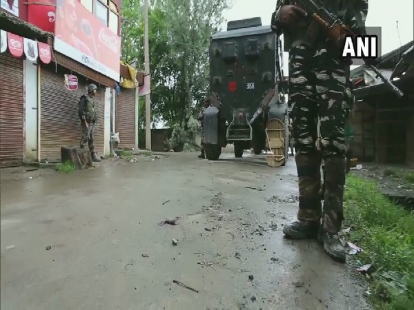 Sopore town of Baramulla district in Jammu and Kashmir on Tuesday. Photo/ANI