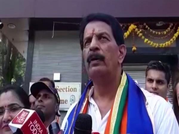 Pradeep Sharma while speaking to media on Thursday. Photo/ANI