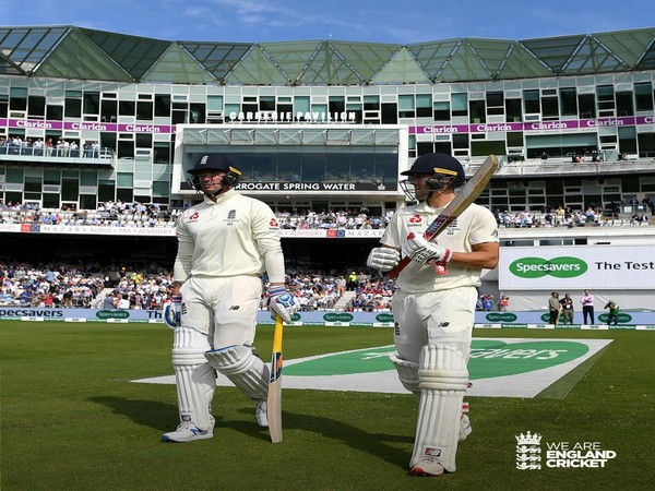 Pacer Josh Hazlewood's five-wicket haul helped Australia to restrict England at 67 runs in the third Ashes Test. (Photo/England Cricket Twitter)