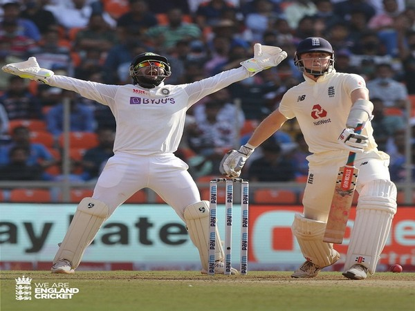England was bundled out for 112 in the first innings at the Narendra Modi Stadium on Wednesday (Image: England Cricket's Twitter)