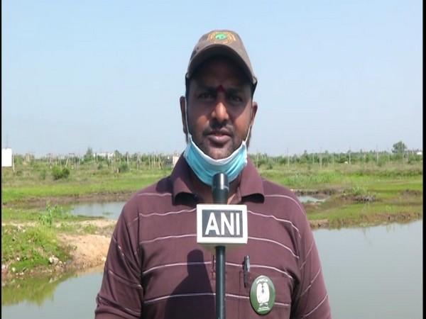 Environmentalist Ajay Kumar Sharma in conversation with ANI. Photo/ANI