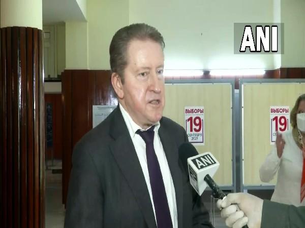 Russian Ambassador to India Nikolay Kudashev speaking with ANI on Sunday.