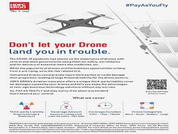 HDFC ERGO - Drone Insurance