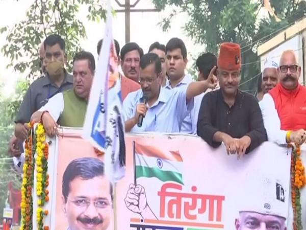 National Convener of AAP Arvind Kejriwal (Photo/ANI)