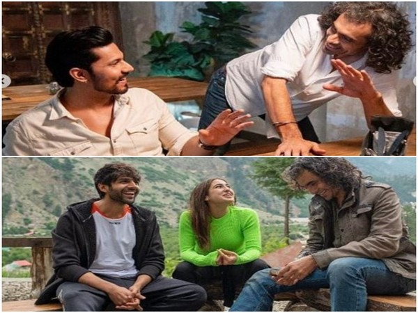 Randeep Hooda, Imtiaz Ali, Kartik Aaryan and Sara Ali Khan, Image Courtesy: Instagram