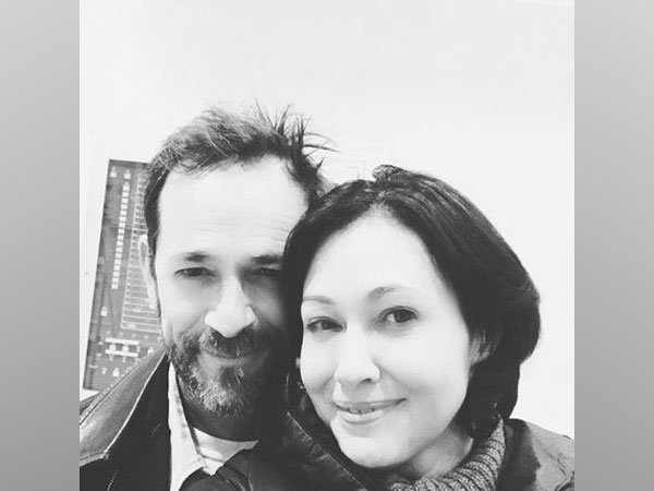 Luke Perry and Shannen Doherty, Image courtesy: Instagram