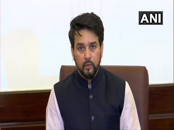 Union Minister of State for Finance Anurag Thakur (file pic/ANI).