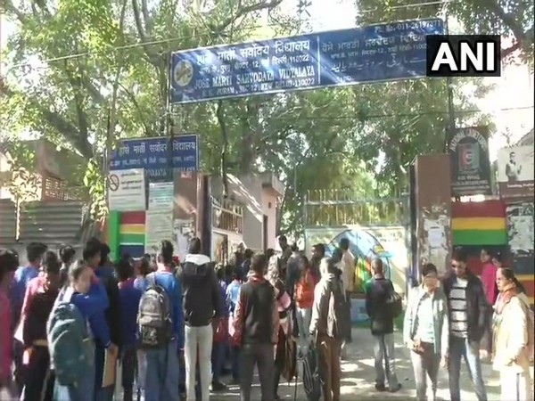 CBSE Class 10th and 12th exams began today.