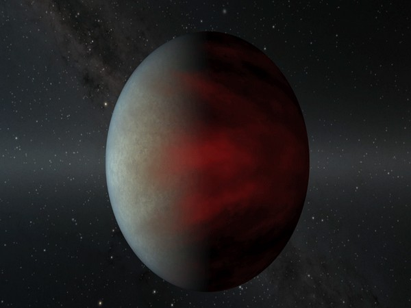Animation of type of gas giant planet known as a hot Jupiter that orbits very close to its star. Credit: NASA/JPL-Caltech