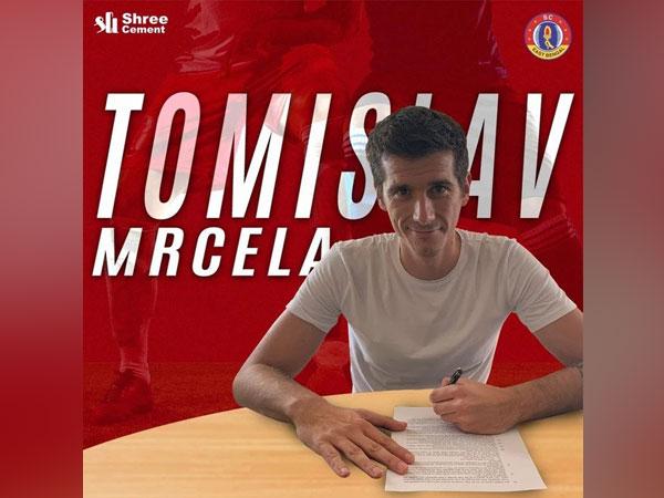 Tomislav Mrcela (Photo: SC East Bengal)