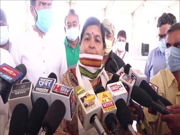 Madhya Pradesh Cabinet Minister Usha Thakur