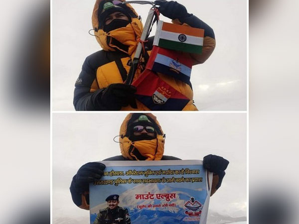 Constable Rajendra Nath has created history by conquering Mountain Elbrus.