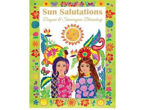The cover of the book written by Indore twin sisters Devyani and Shivaranjani Bharadwaj.