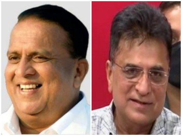 Maharashtra Cabinet Minister Hasan Mushrif (L), BJP leader Kirit Somaiya (R) (Photo/ANI)
