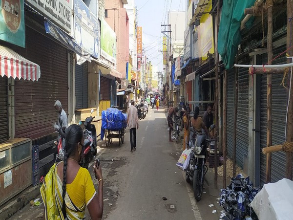 Visual of a fish market in Coimbatore (Photo/ANI)