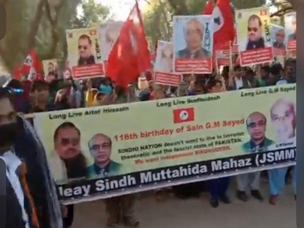 Rallies were held in Sindh and thousands gathered at the shrine of late leader in his home town to pay tribute.