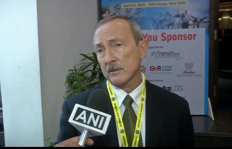 FAA's South Asia representative Thomson Miller in New Delhi on Wednesday