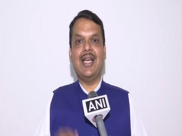 Maharashtra Chief Minister Devendra Fadnavis spoke to ANI on Saturday in Mumbai in Maharashtra. Photo/ANI