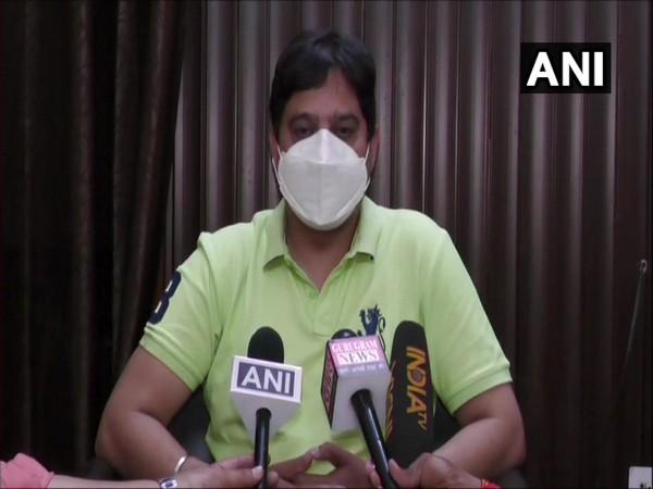 Haryana Drug Controller Officer (ANI).