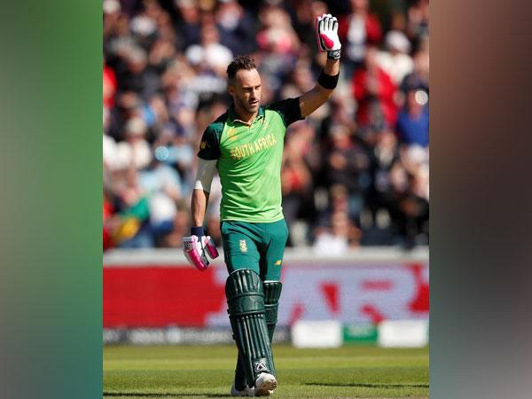 South Africa cricketer Faf du Plessis