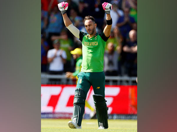 South Africa's skipper Faf Du Plessis