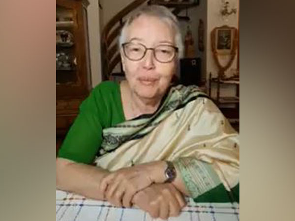 Daughter of freedom fighter Netaji Subhas Chandra Bose, Anita Bose Pfaff