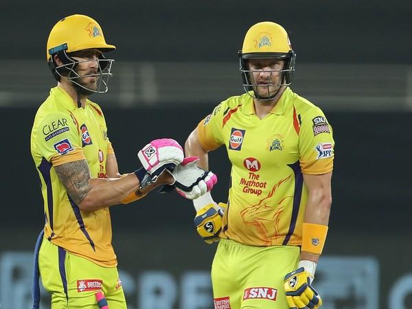 Faf du Plessis and Shane Watson (Photo: BCCI/ IPL)