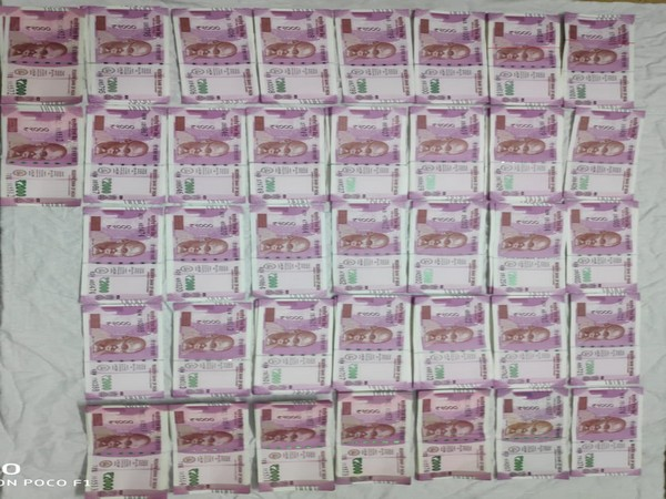Fake currency recovered by Special Cell, Delhi police. Photo/ANI