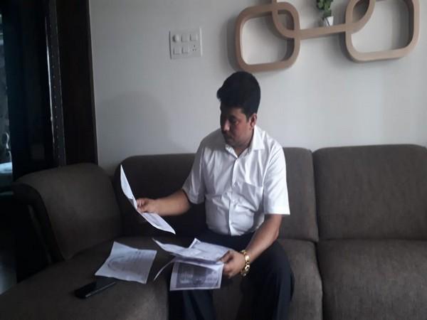 Abdul Samad Chowdhury, grandson of freedom fighter Ahmed Ali. Photo/ANI