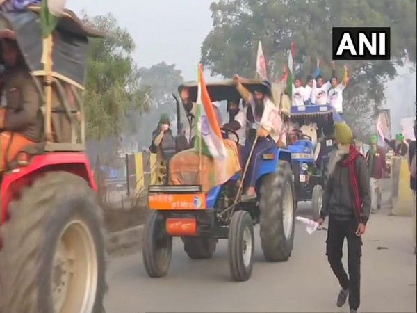 Visual from the tractor rally