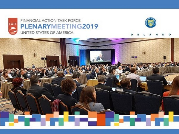 The FATF plenary meeting underway in Orlando (Photo/FATF Twitter)