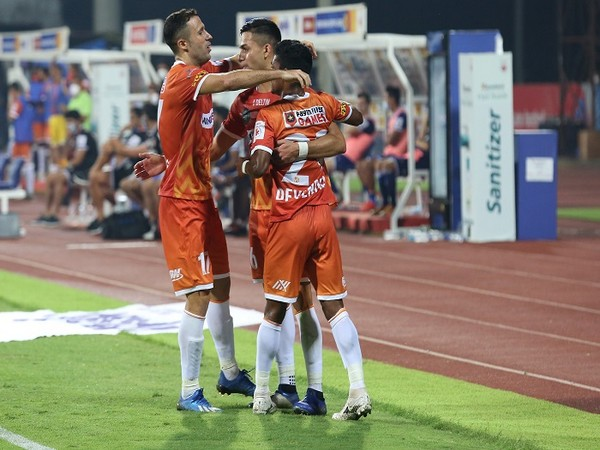 FC Goa snatched a draw from the jaws of defeat thanks to Ishan Pandita (Image: ISL)