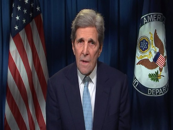 US special presidential envoy for climate John Kerry