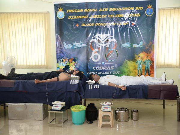 Blood donation camp organised by Indian Navy